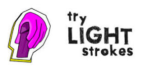 Try light strokes, of course!